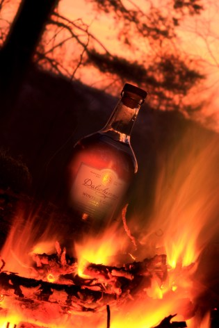 whisky flames
