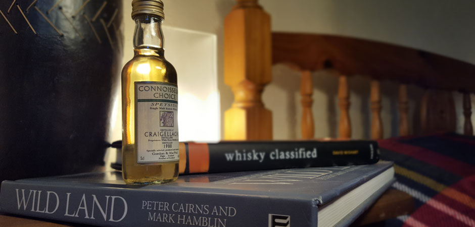 A little bedtime whisky reading