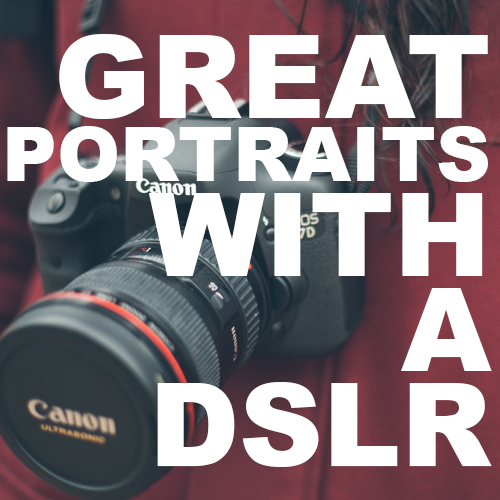how to take self portraits with dslr