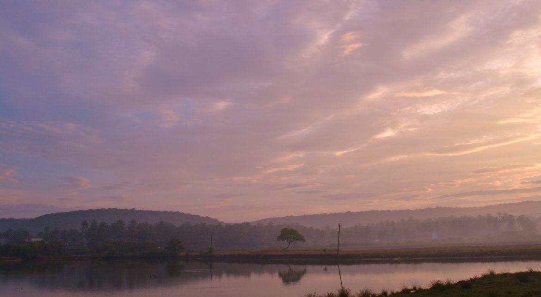 Sunrise in Goa