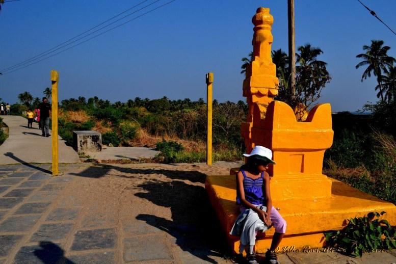 Temple inside the Sindhudurg fort