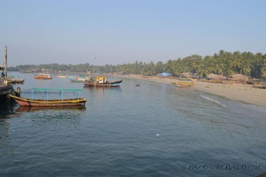 View from the Sindhudurg jetty