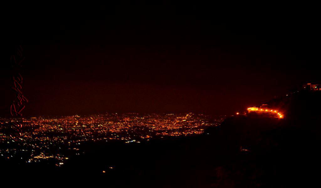 Mussoorie at night