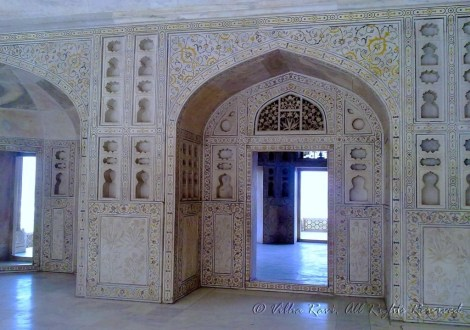 The Nagina Mosque inside Agra Fort, Agra