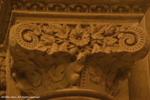 It worked on this creature for sure (Pillar detail at CST)