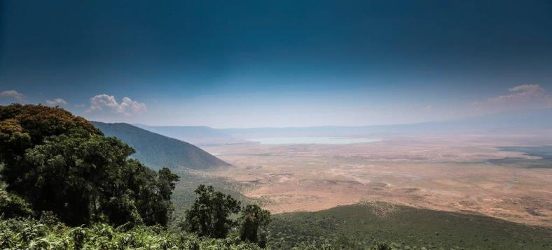 The Ngorongoro Crater, largest intact volcanic caldera, was declared a UNESCO World Heritage Site in 1978