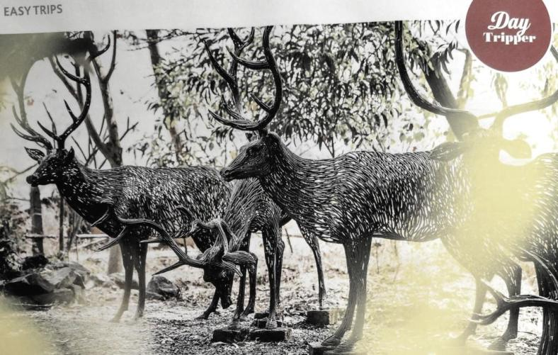 Deer sculptures at Avanti Kalagram-Pic by Lonely Planet India
