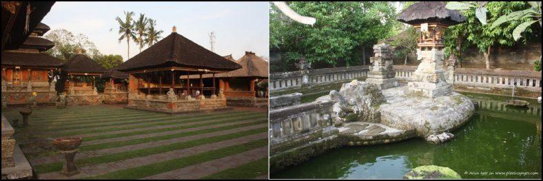 Views of the inner 'mandala' of the Pura Puseh Desa
