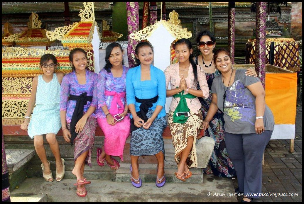 The traditional Balinese greeting 'Om Swasti Astu' says a lot about their way of life