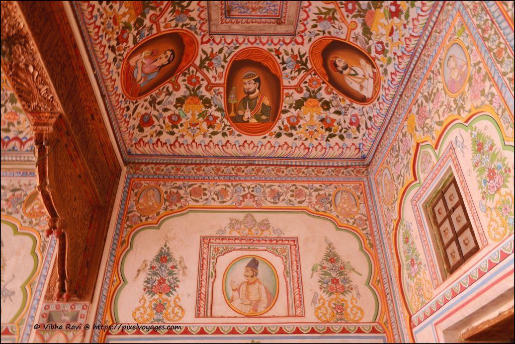Frescoes Nadine Le Prince haveli Fatehpur
