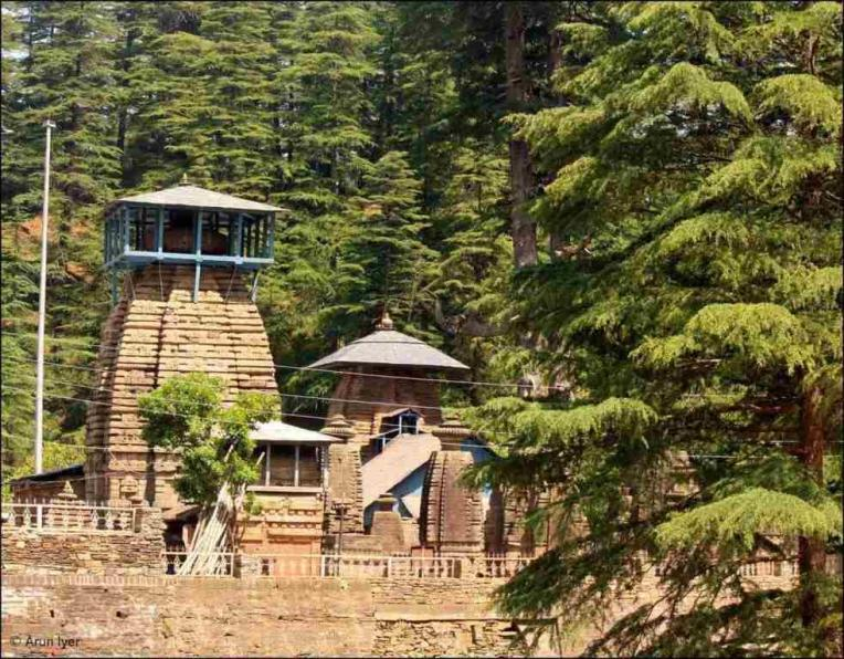 Jageshwar Temple from outside