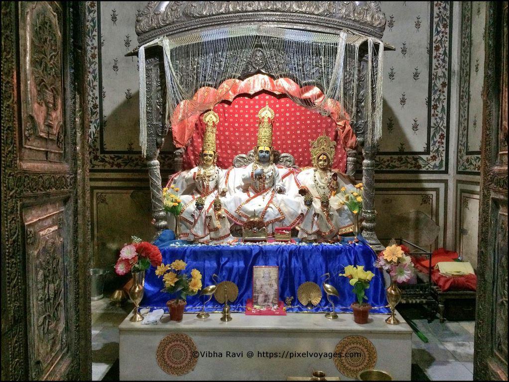 Bijawar State private temple in Chitrakoot