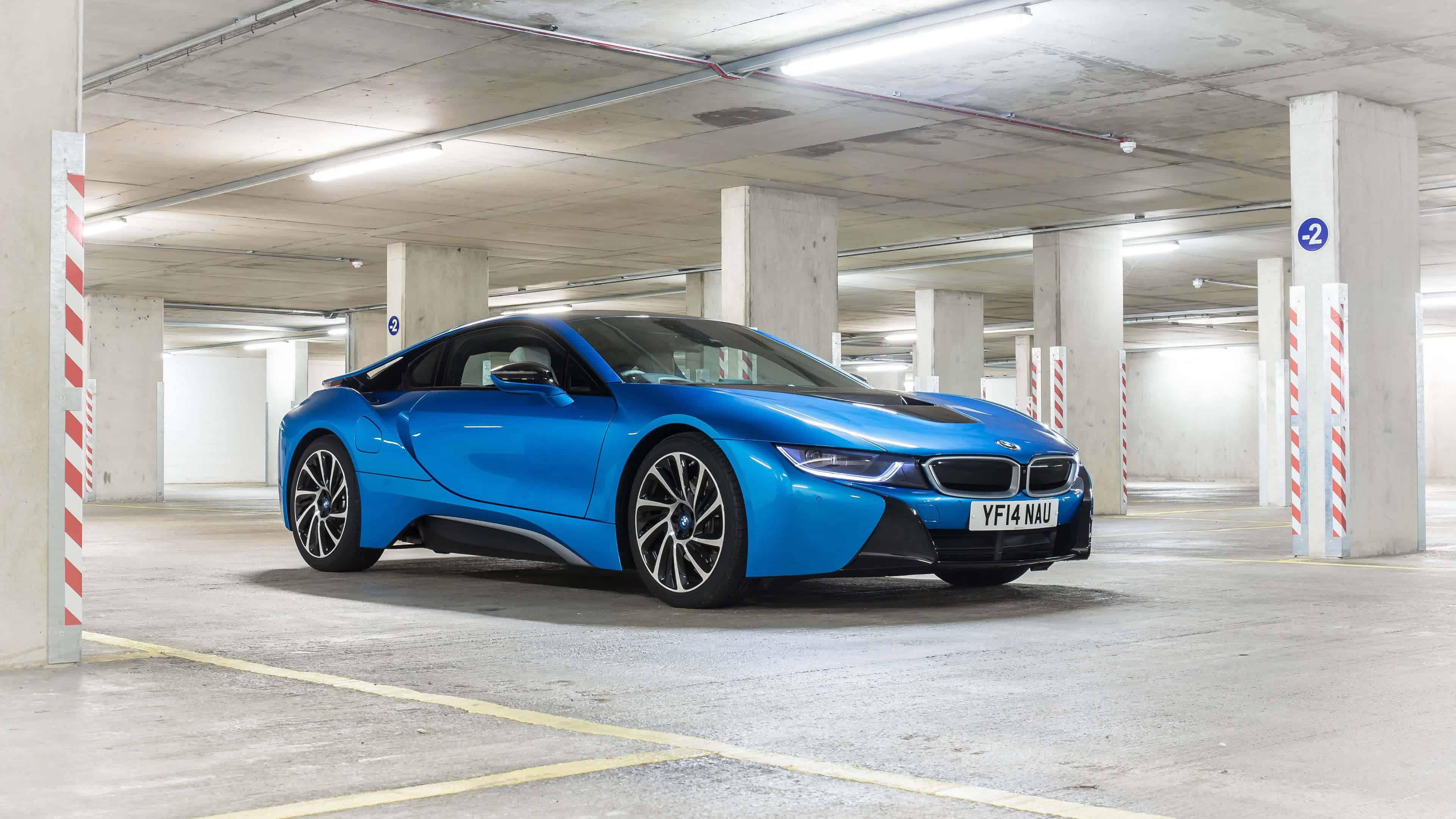 2016 Blue BMW I8 UHD 4K Wallpaper Pixelz