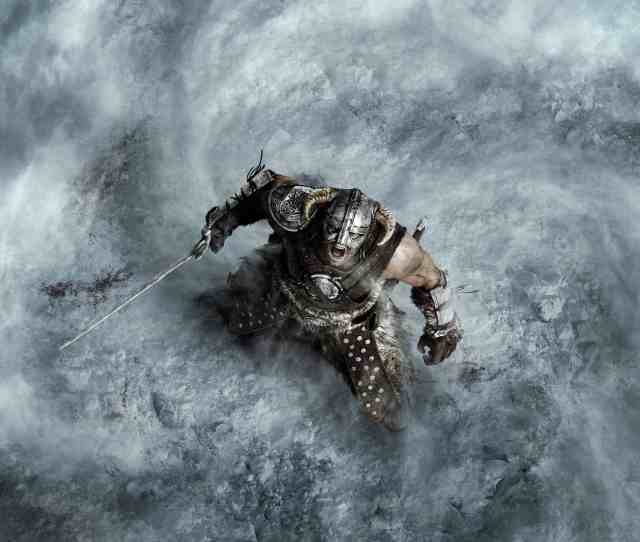 Related Images Skyrim Landscape Dual Monitor Wallpaper