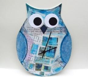 cute owl clock