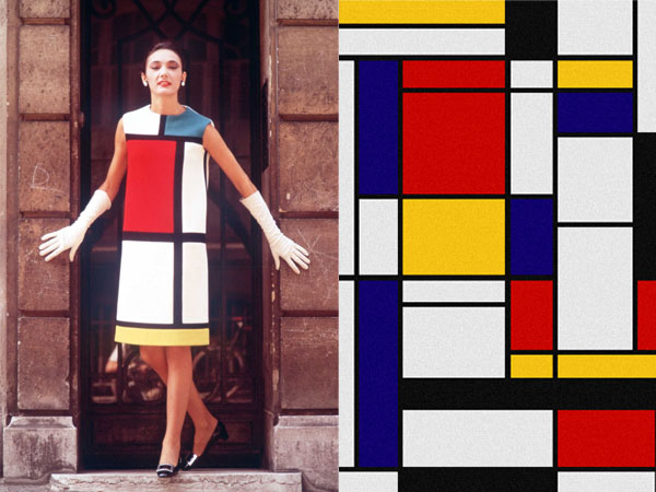 Piet Mondrian Sukienka