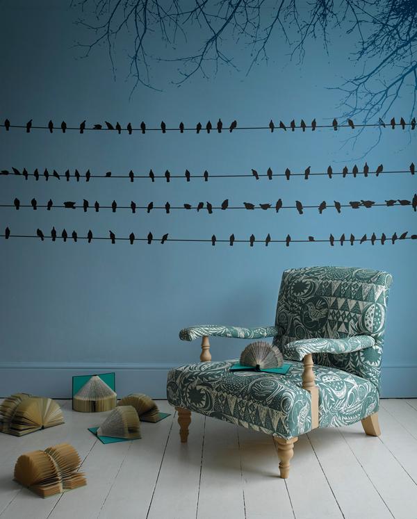Pixers_Blue_Wall_Birds