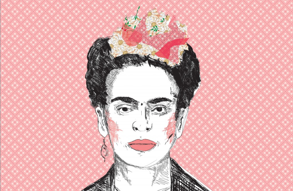 Frida Kahlo - fototapeta PIXERS