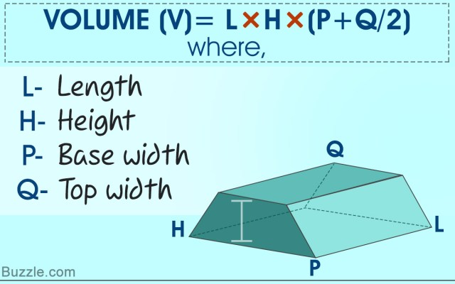 Finding the Volume of a Trapezoidal Prism - Made Easy With
