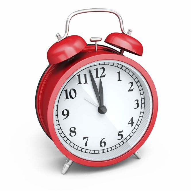 How To Set A Windup Alarm Clock Home
