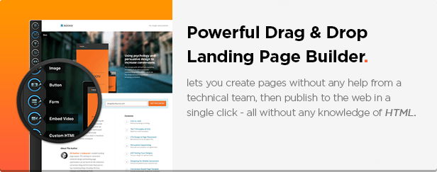 BOLD - Unbounce App Landing Page Template - 3