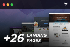 FLATPACK – Landing Pages Pack With Page Builder - 22