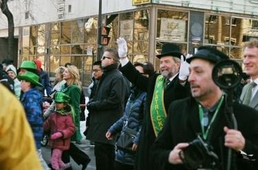 Déflié de la St Patrick - Monsieur Tom Muclair