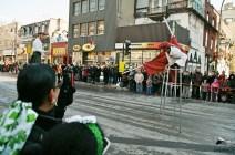 Déflié de la St Patrick - Activitée de rue