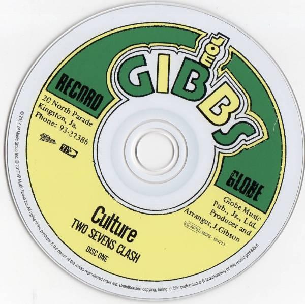 Culture - Two Sevens Clash (1978) {2CD 40th Anniversary VP ...