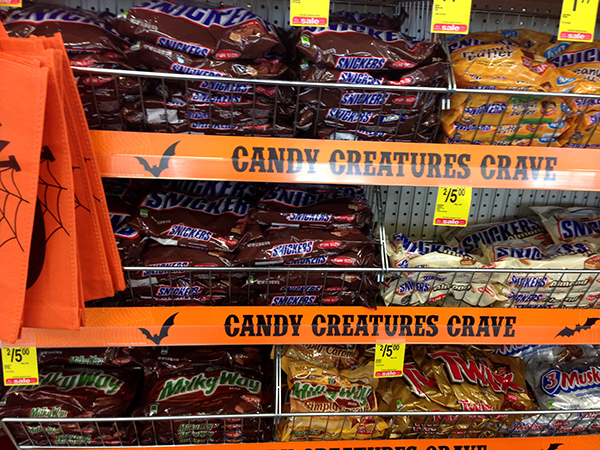 CVS Halloween Candy