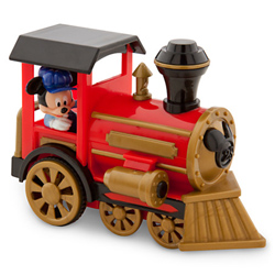 Disney Store Pull Back Mickey Train