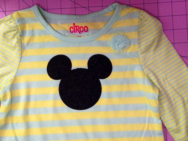 DIY Mickey Shirt - Super Easy - No Sew