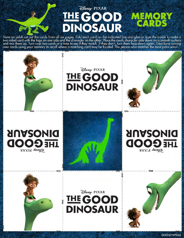 GoodDinosaurMemoryGame