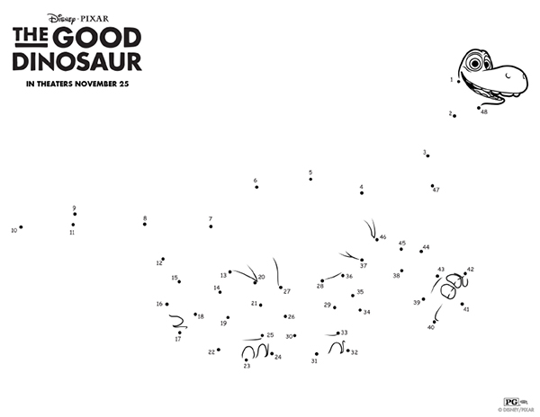 TheGoodDinosaurConnecttheDots