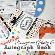 2016 Unofficial Disneyland Activity and Autograph Book Review PLUS Giveaway