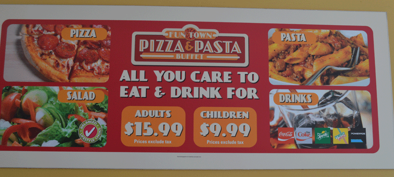 legoland fl s best deal fun town pizza and pasta buffet traveling rh travelingwithkidz com pizza inn buffet price brunswick ga pizza inn buffet prices spartanburg sc