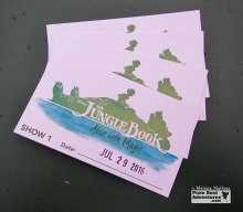 Tickets from the Jungle Book show dining package
