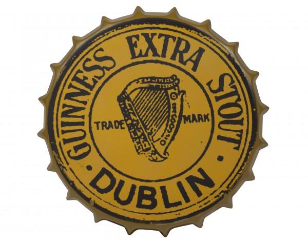 Guinness Vintage Bottle Cap Sign - Pixie Treasures Celtic Shoppe