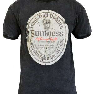 Distressed Gaelic Label Front