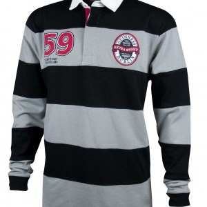 Grey Black Rugby Front