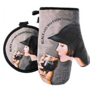 Guinness Girl Oven Glove
