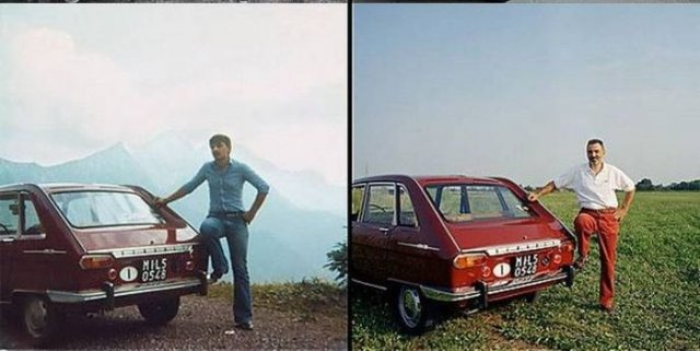 People And Their Cars Throughout The Time Vehicles