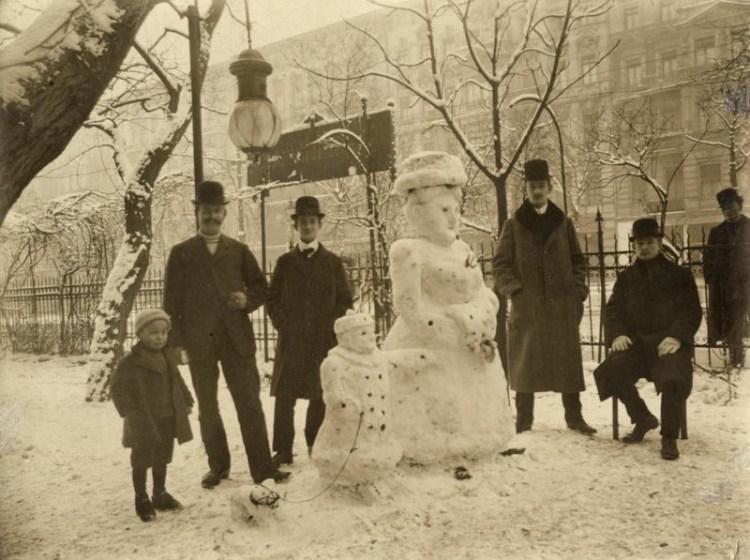 Dutch Snowman