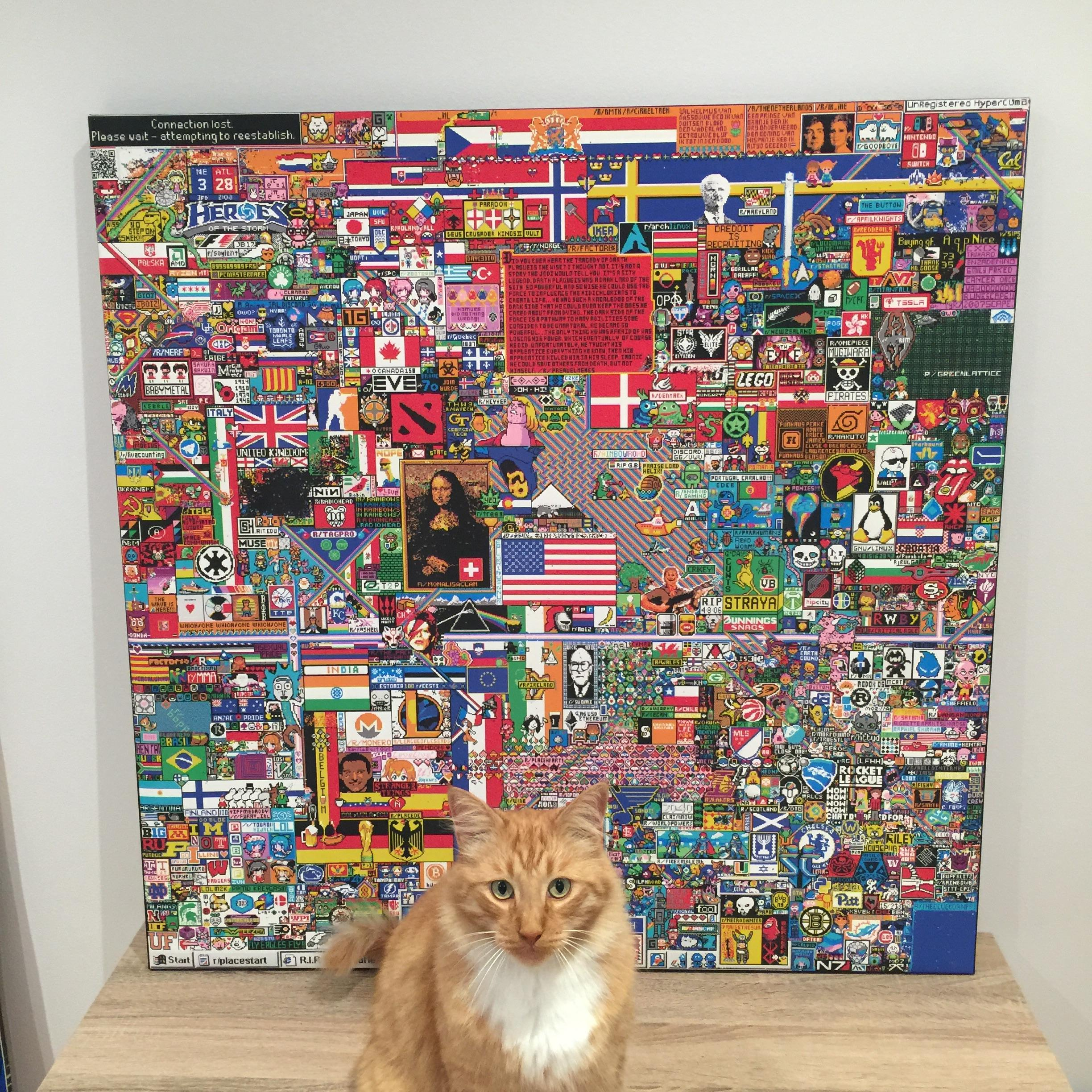 r/Place: Over a Million Redditors Got Together and Made Some