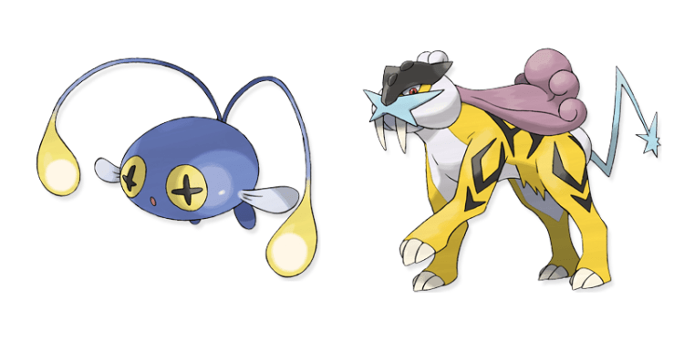 chinchou and raikou pokemon pronunciation