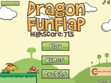 Dragon FunFlap Main Menu