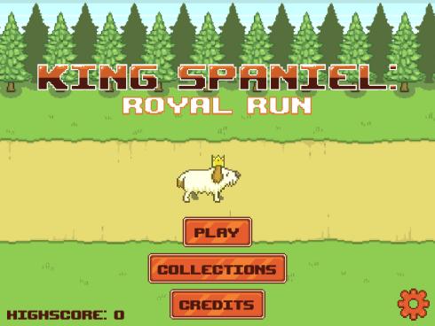 King Spaniel - Main Menu