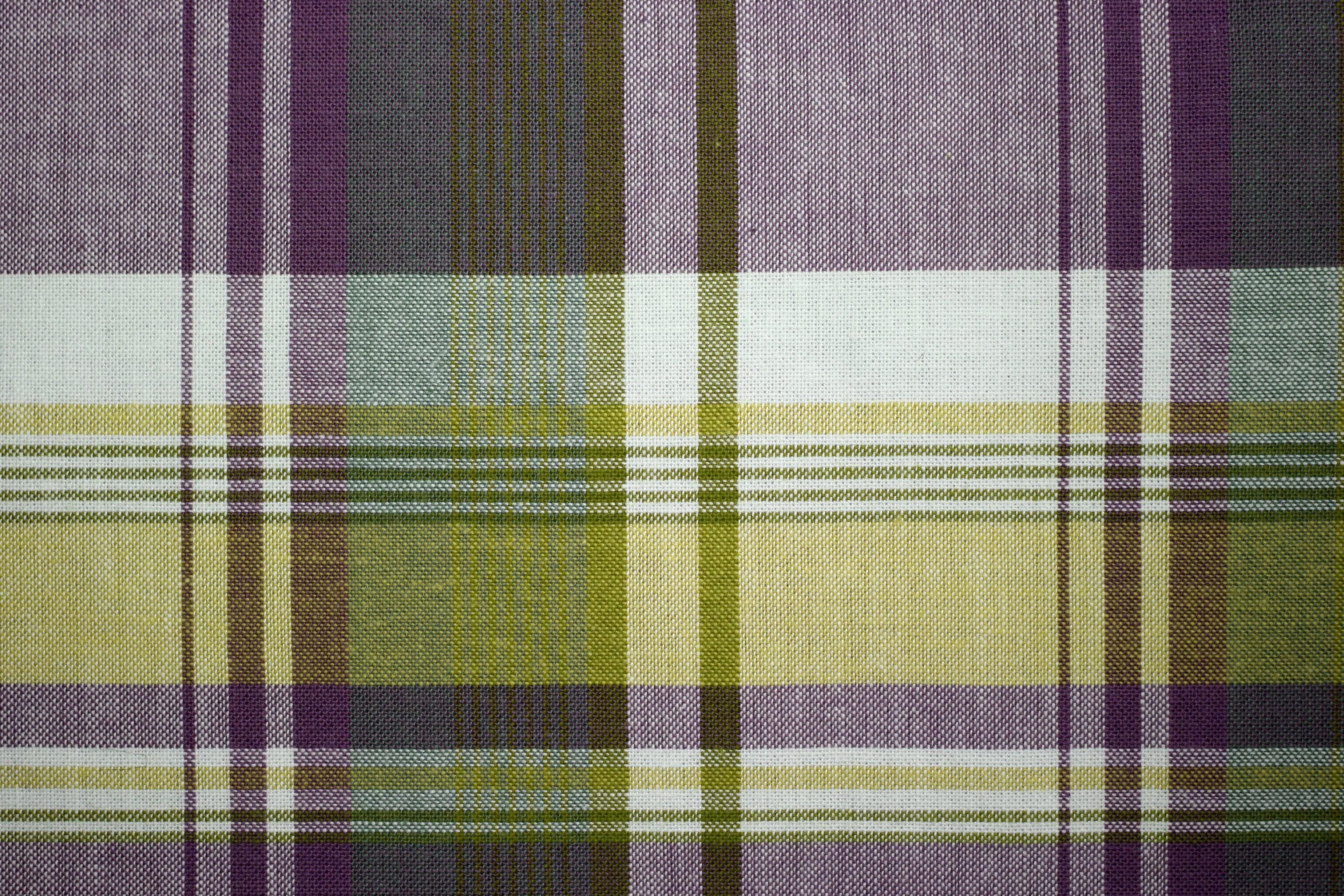 Green And Purple Fabric