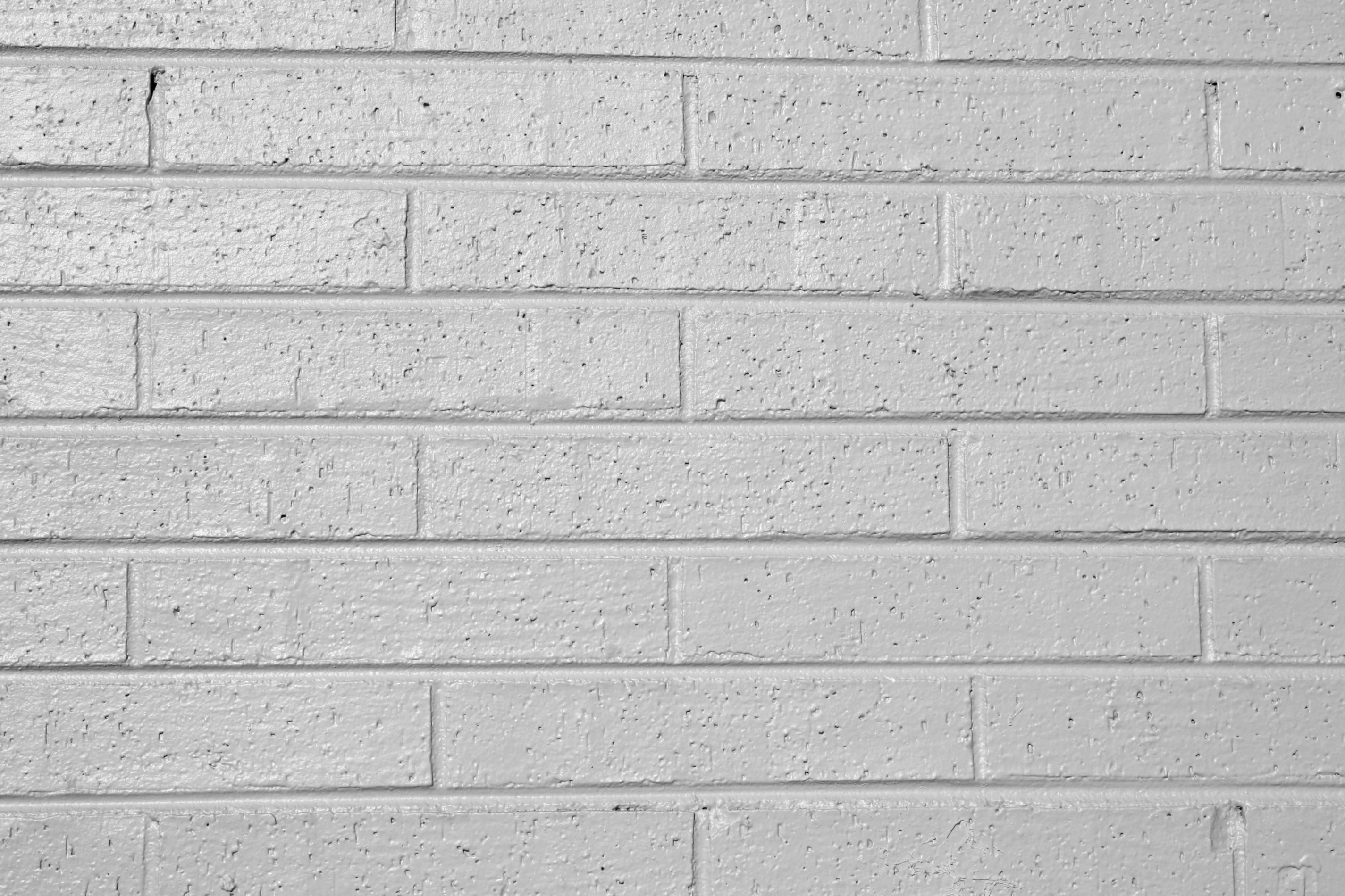 Free Picture Gray Painted Brick Wall Texture