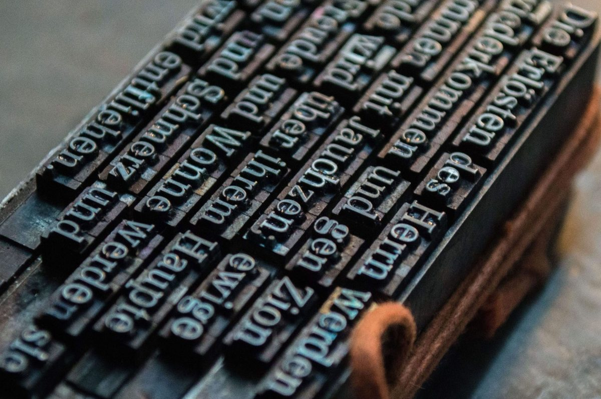 Free picture: text, letter, typography, print press, machine